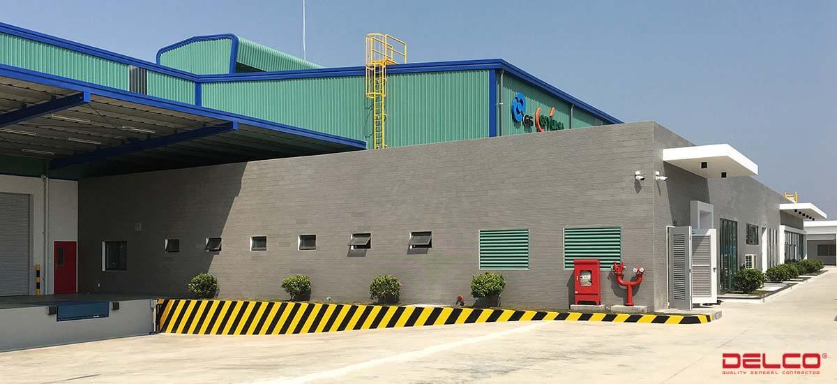 Xây dựng Nhày máy GS