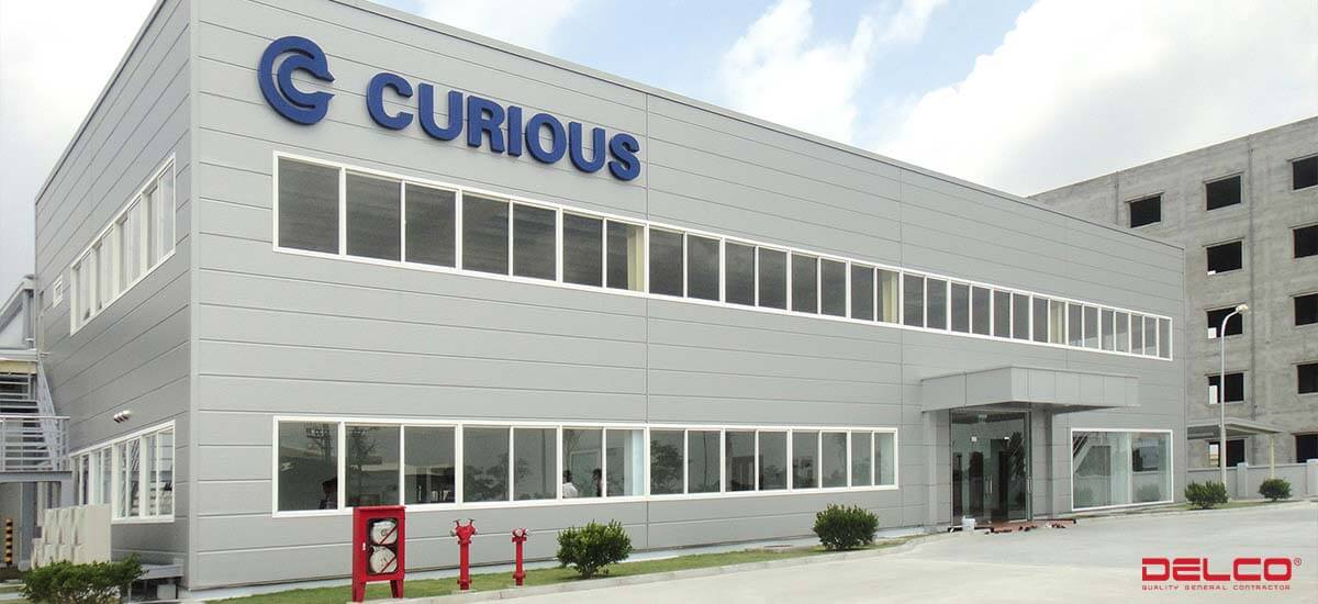 Xây dựng nhà máy Curious Seiki Việt Nam