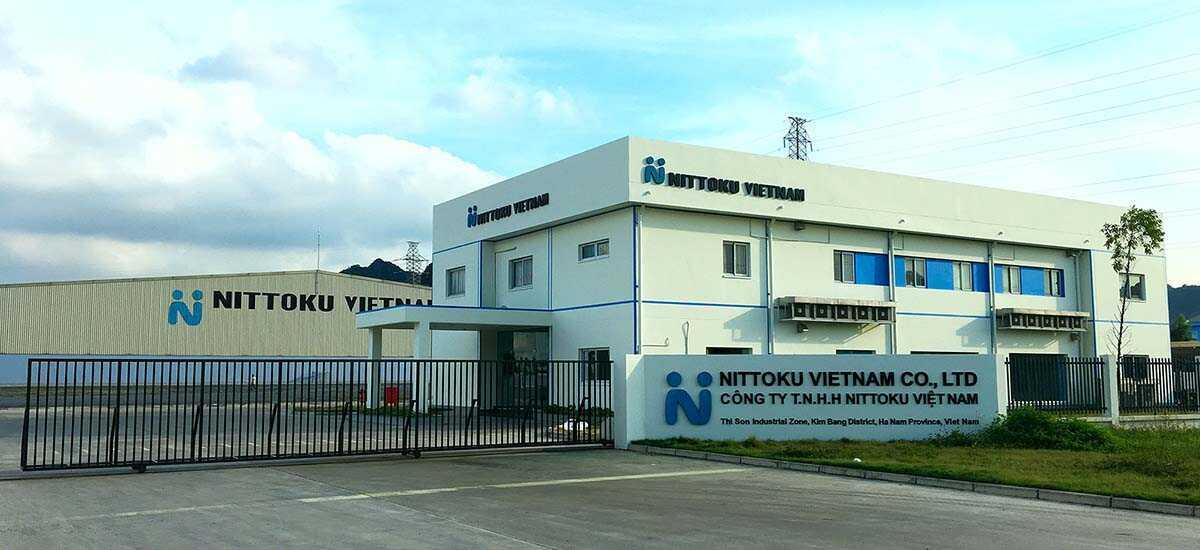 Xây dựng nhà máy thực phẩm Nittoku