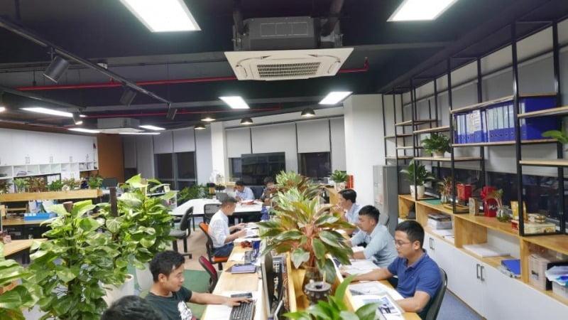 Văn phòng làm việc mới của DELCO: không gian mở – cho những ý tưởng xanh -  Delco Construction