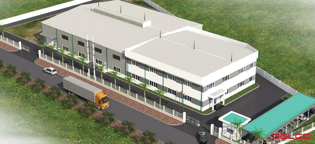 Tổng thầu xây dựng nhà máy FIT Việt Nam