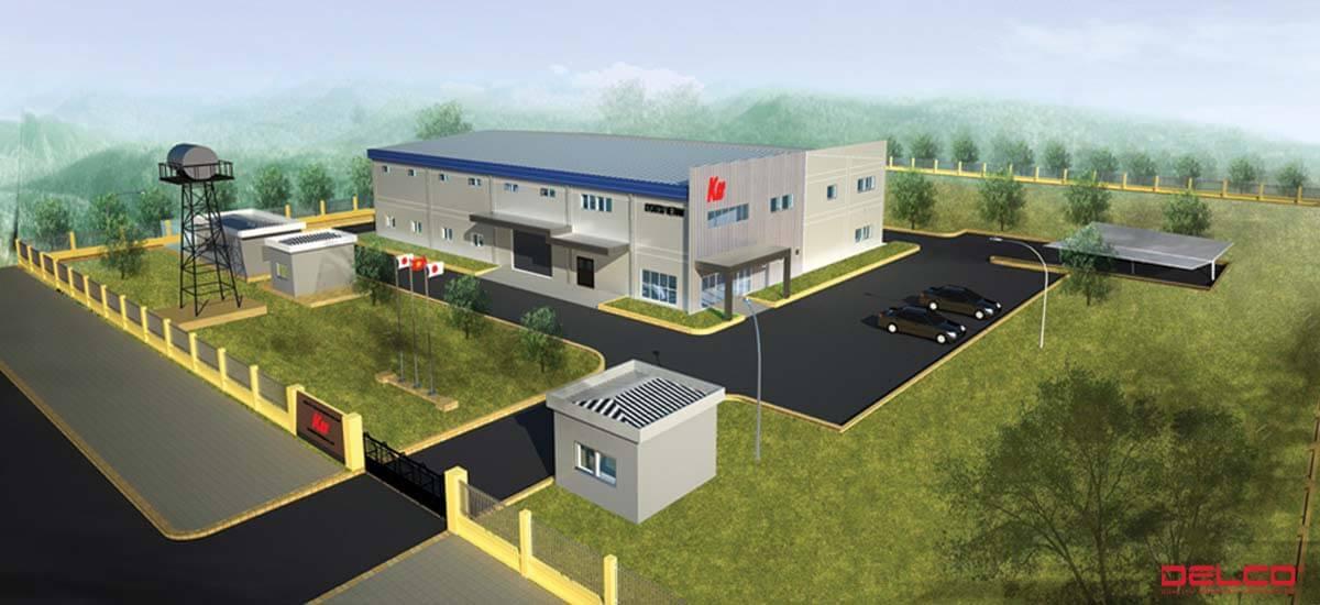 Xây dựng nhà máy Kyoritsu Việt Nam