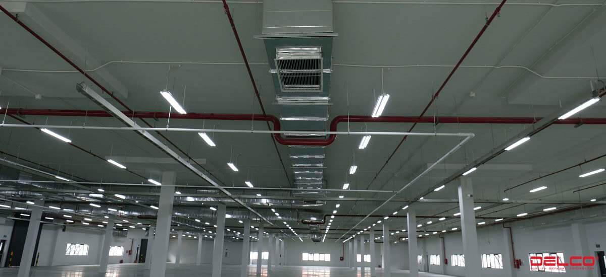 Xây dựng nhà xưởng thông minh Power Plus