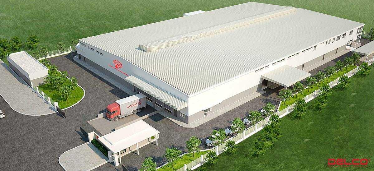 Xây dựng nhà máy thực phẩm Phạm Nguyên Cơ sở phía Bắc