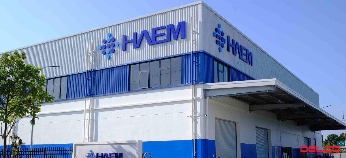Tổng thầu xây dựng nhà máy HAEM