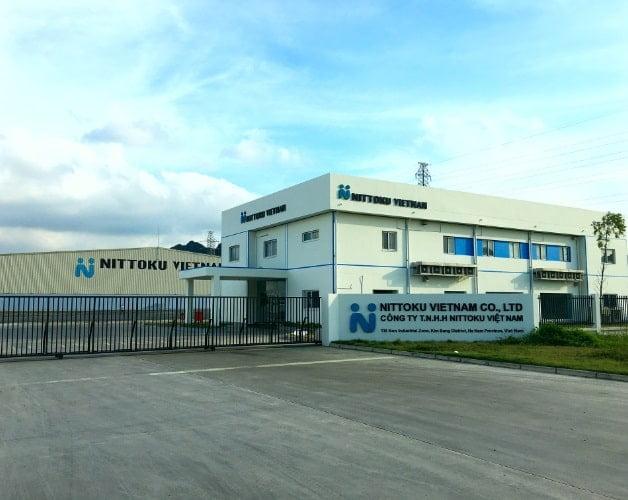 Tổng thầu xây dựng nhà máy Nittoku
