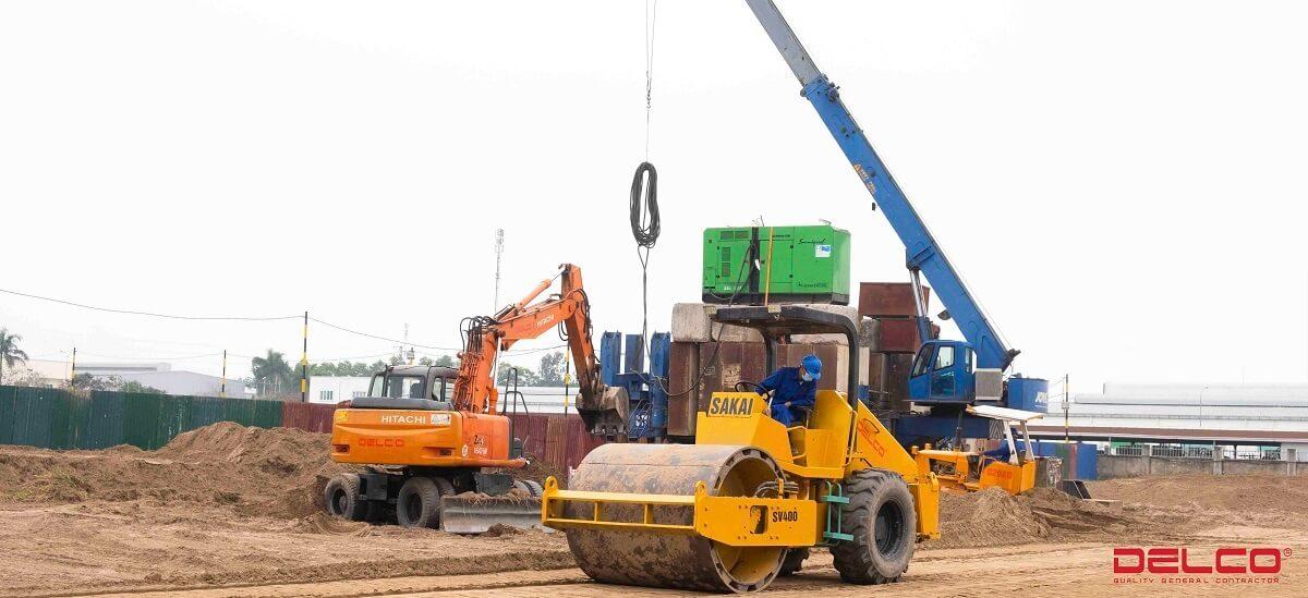Xây dựng nhà máy Dorco Living vina Hà Nam