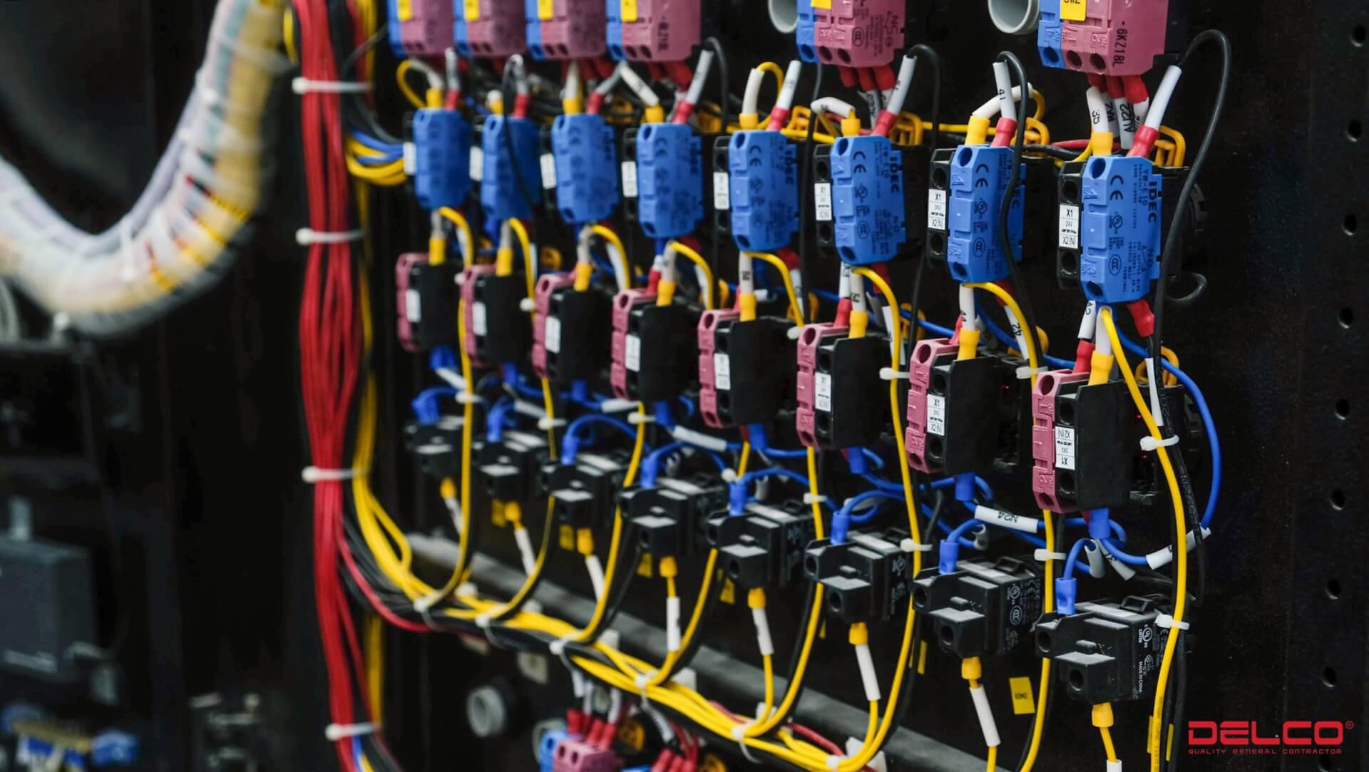 Hệ thống cơ điện M&E (MEP) do delco cung cấp