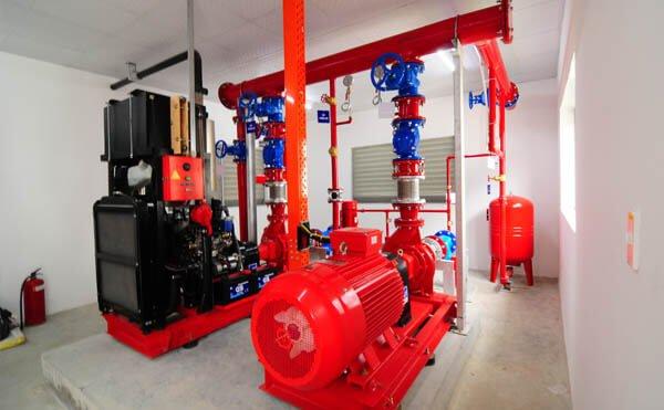 Hệ thống PCCC trong hệ thống MEP, M&E công nghiệp