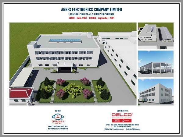 DELCO continues to be the general contractor of Annex Electronics Project in 2021