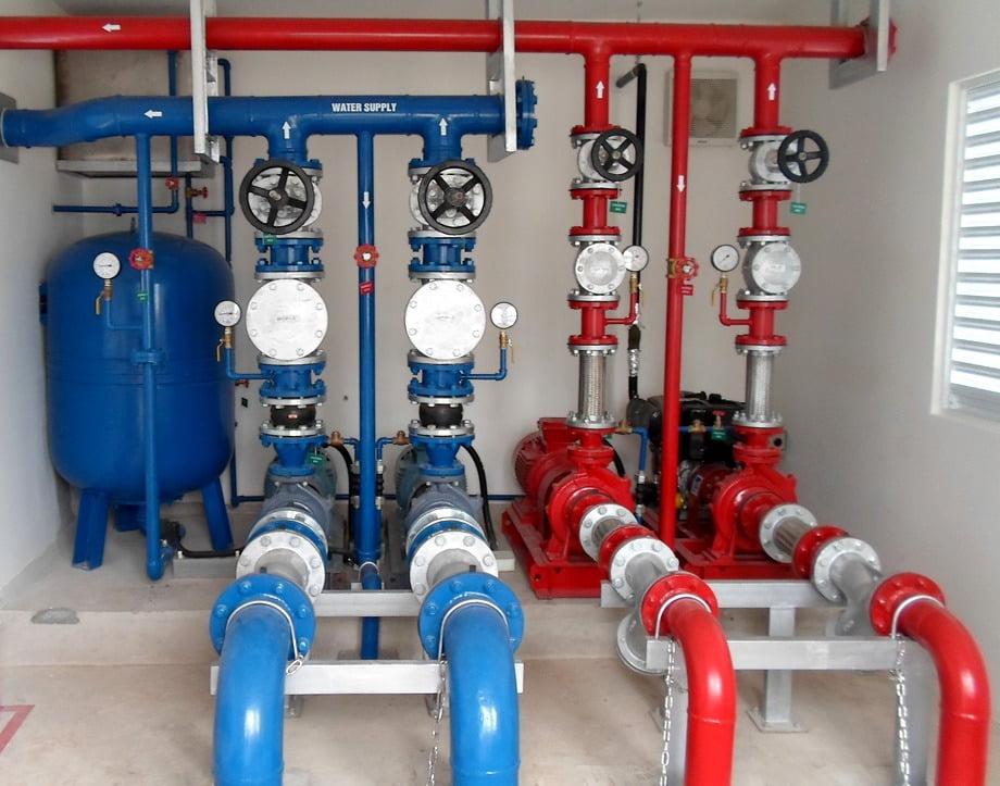 工場給排水・衛生設備 システム(P&S)