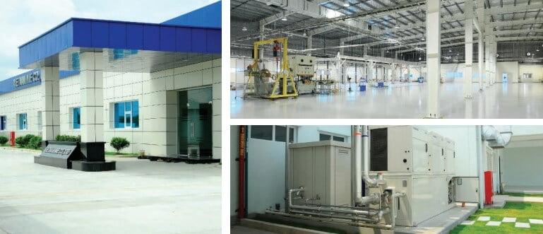 Tổng thầu xây dựng delco xây dựng nhà máy MIE tại Hưng Yên
