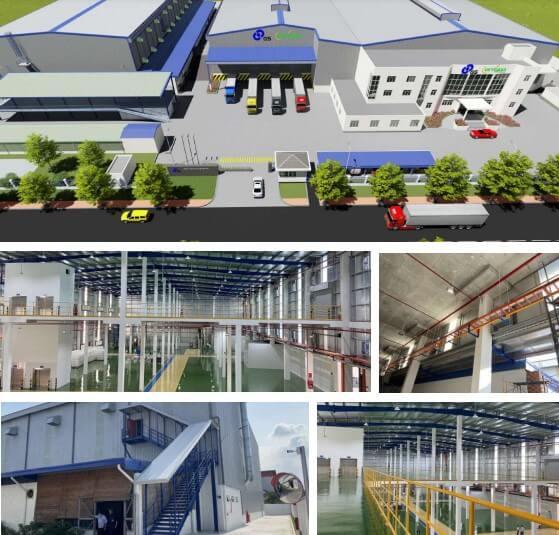 Dự án Nhà máy Ắc quy GS Bình Dương do DELCO là Tổng thầu thiết kế - thi công, cung cấp giải pháp nhà máy thông minh.